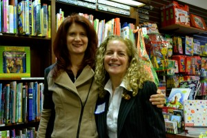 Me and Mackenzie Reide at the Bank Street Bookstore.